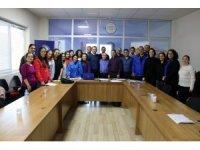 Büyükşehir çağrı merkezi personeline eğitim