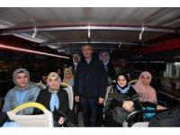 Şahinbey 164 öğrenciyi umreye uğurladı