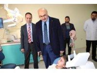 Vali Köşger'den İl Sağlık Müdürü Açıkgöz'e ziyaret