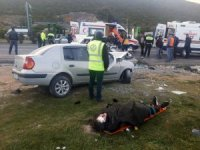 Milas'ta trafik kazası: 4 yaralı