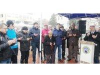 Yardım konvoyu dualar eşliğinde Suriye'ye hareket etti