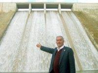 Ardıl Barajı doldu taştı