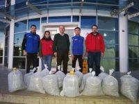 513 kilo atık pil toplandı