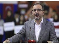Bakan Kasapoğlu, Türkiye Gençler Tekvando Şampiyonası açılış törenine katıldı