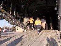 Somali'deki bombalı saldırıda yaralanan 10 kişi Türkiye'ye getirildi