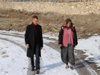 Kaymakam Aytemür'den Kayacık köyüne ziyaret