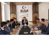 Ahlat'ta 'Bağımlılıkla Mücadele İlçe Koordinasyon Kurulu' toplantısı