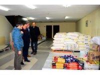 Ardahan'da İdlib için insani yardım kampanyası başlatıldı