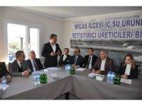 Tarla balıkçılarının sorunu yerinde masaya yatırıldı