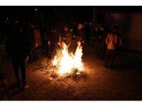 Akhisar'da meydana gelen depremin şiddeti kameraya yansıdı