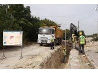 MESKİ'den Karacailyas Mahallesine 9 milyon TL'lik kanalizasyon hattı