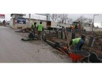 Gebze'de yol yapım çalışmaları sürüyor işleri