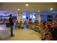 Tabiat Eğitim Merkezi'ni 4 yılda 8142 öğrenci ziyaret etti