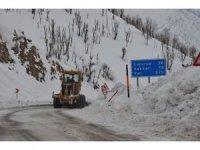 Ekiplerin karla mücadelesi sürüyor