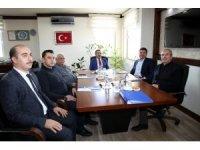 Aksaray'da OSB ocak ayı toplantısını gerçekleştirdi