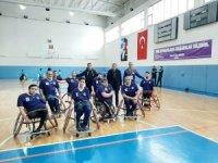 Tekerlekli Sandalye Basketbol Takımı play-off hedefine yakın