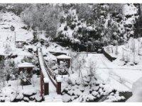 Ağaran Şelalesi'nde kartpostallık görüntüler oluştu