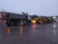 Nevşehir Belediyesi karla mücadele için araç filosunu güçlendiriyor