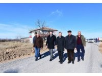 Başkan Çınar, yol açma çalışmalarını inceledi