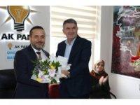 AK Parti Ürgüp İlçe Başkanlığında devir teslim töreni yapıldı