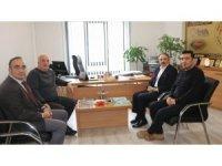 Rektör Bağlı, Küresel Gazeteciler Konseyi'ni ziyaret etti