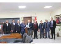 AK Parti Yerel Yönetimler Başkan Yardımcısı Abdurrahman Öz'den Emirdağ'a ziyaret