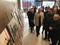 Hendek'te Gaffar Okkan resim sergisi açıldı
