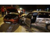 Isparta'da zincirleme kaza: 6 yaralı