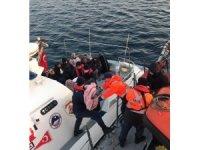 Ayvalık'ta 47 düzensiz göçmen yakalandı