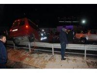 Rize'de 3 araç birbirine girdi: 1 ölü, 8 yaralı