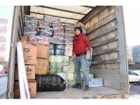 Nusaybin Esnaf ve Sanatkarlar Odası'ndan Elazığ'a yardım eli