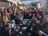 Milletvekili Aydın'dan depremzedelere 'geçmiş olsun' ziyareti