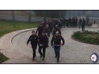 Bursa'da silah tacirlerine operasyon: 10 tutuklu