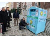 """Başkan Demirtaş: """"Giysi kumbarası ile ekonomiye katkı sağlamayı hedefliyoruz"""""""