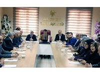 AK Parti Van İl Başkanlığı Yönetim Kurulu Toplantısı yapıldı