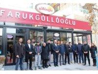 Faruk Güllüoğlu Baklavanın yetkilileri basınla bir araya geldi
