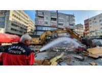 Bulancak durağı ve şehir girişi projesi için ilk kazma vuruldu