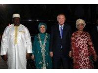 Cumhurbaşkanı Erdoğan resmi devlet yemeğine katıldı