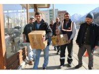İspir Belediye Başkanı Coşkun'un çağrısı yardım oldu aktı