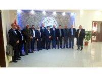 Van kültür ve dayanışma vakfı yönetiminin Erciş ziyareti