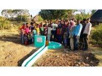 Bursalı hayırseverler Etiyopya'da açtıkları su kuyusu ile gönülleri fethetti