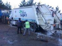 Kepez'in araçları dezenfekte ediliyor