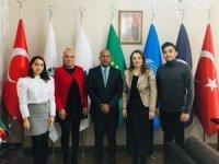 Küba Büyükelçisi'nden ULUSKON'a ziyaret