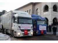 Nevşehir'de son yardım tırı bu akşam yola çıkıyor