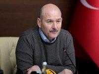 Bakan Soylu, HDP'li belediyelerin deprem yardımlarının engelledi iddialarını yalanladı