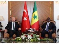 Cumhurbaşkanı Erdoğan, Senegalli mevkidaşı ile görüştü