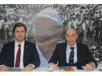 Soyer'den ilçe başkanlarıyla toplantı