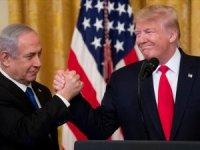ABD Başkanı Trump tek taraflı 'Ortadoğu Planı'nı açıkladı