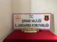 Şırnak'ta 10 kilogram eroin ele geçirildi