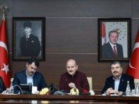 İçişleri Bakanı Soylu: Elazığ ve Malatya'da okullar 10 Şubat'ta açılacak
